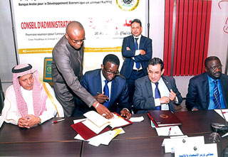 BADEA and Senegal sign a loan Agreement